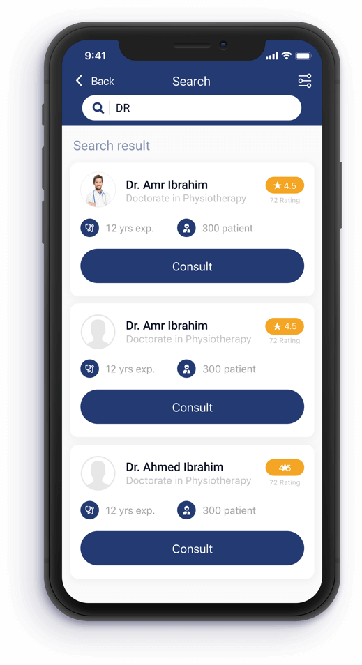 Konsulto Search for doctor