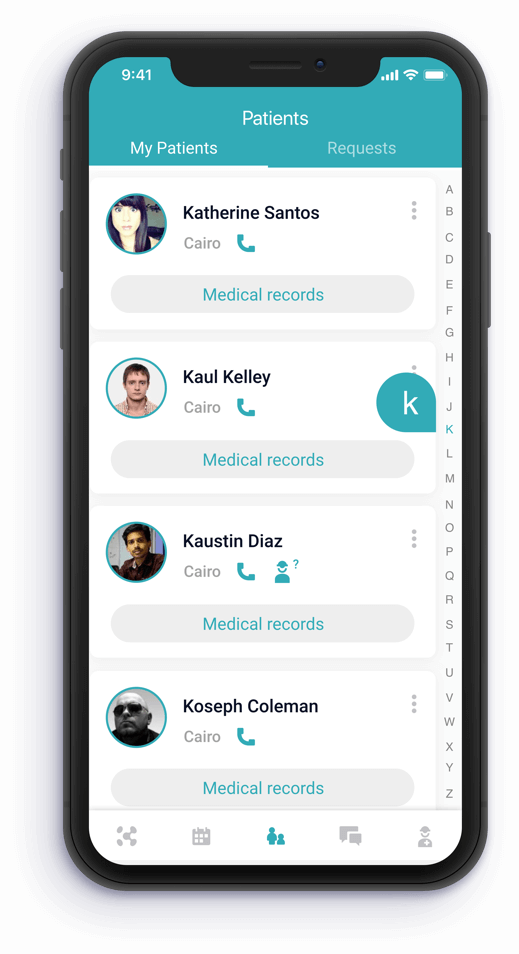 Konsulto patient mobile app in Egypt