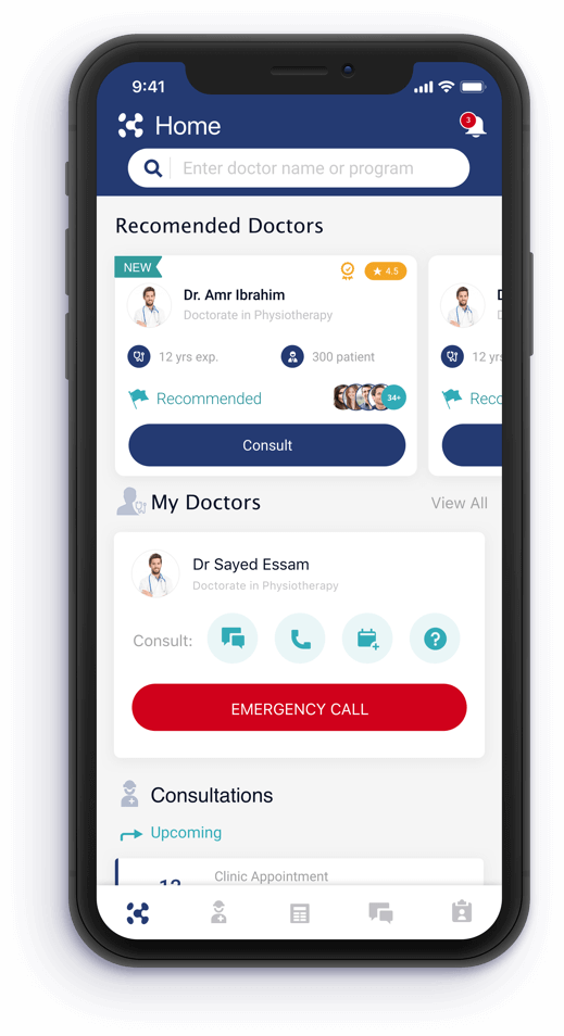 Recommendations for doctors app feature for Konsulto